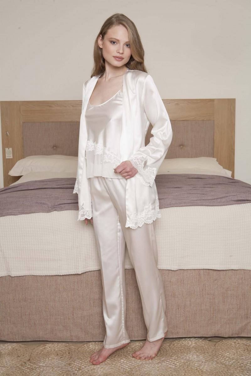 Set pyjamas with robe JENNY