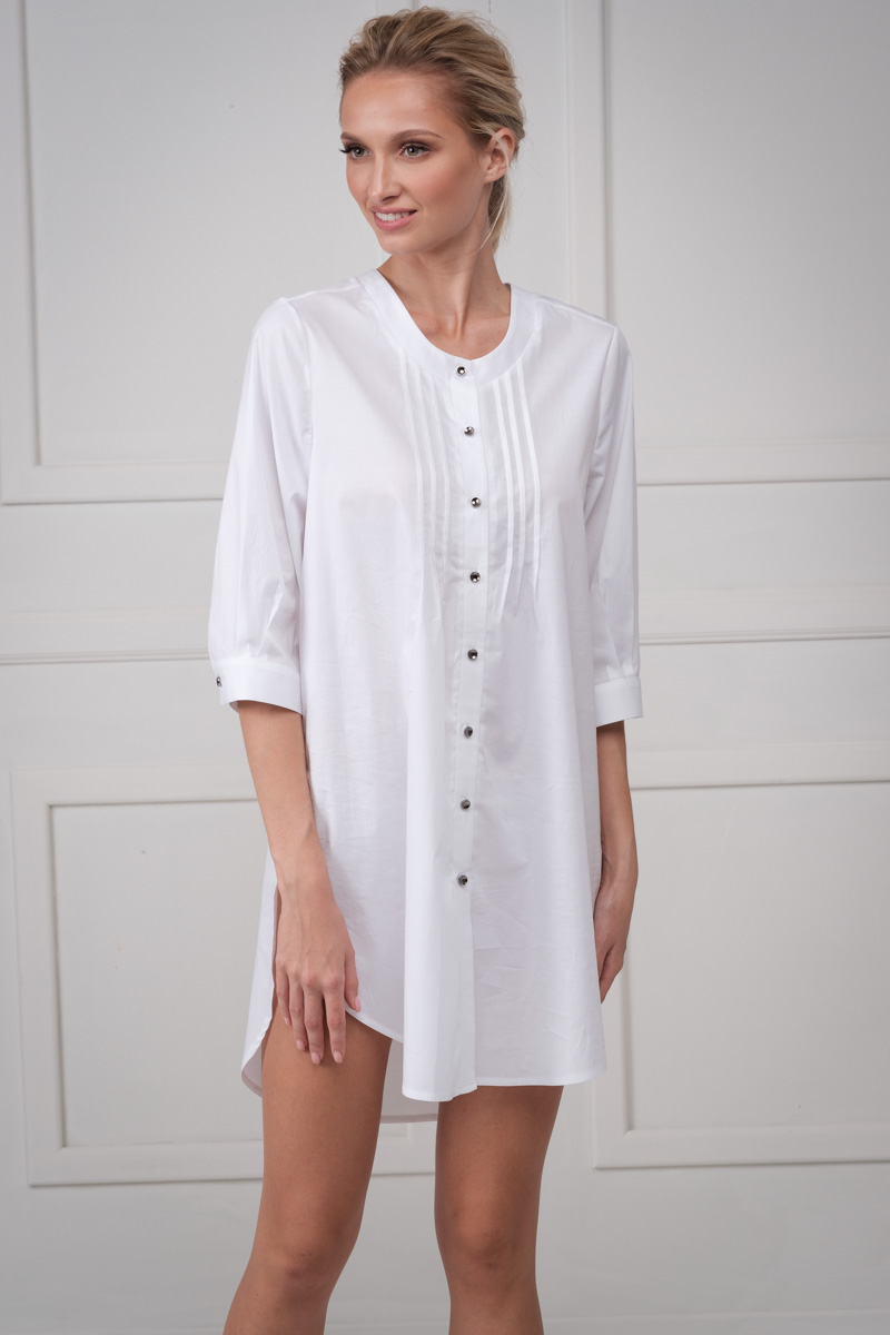 Mini dress with buttons Kate