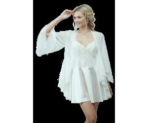 Set mini robe and nightgown