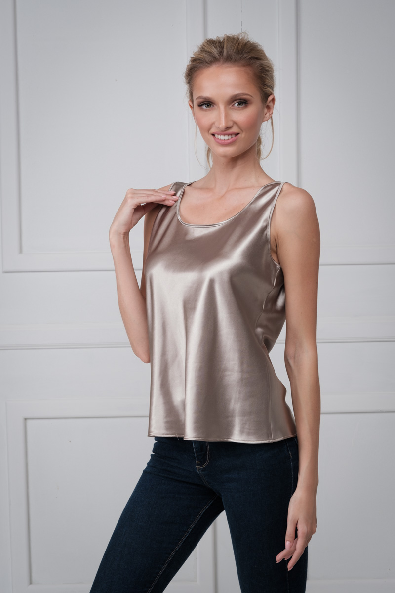 Satin top Jolie