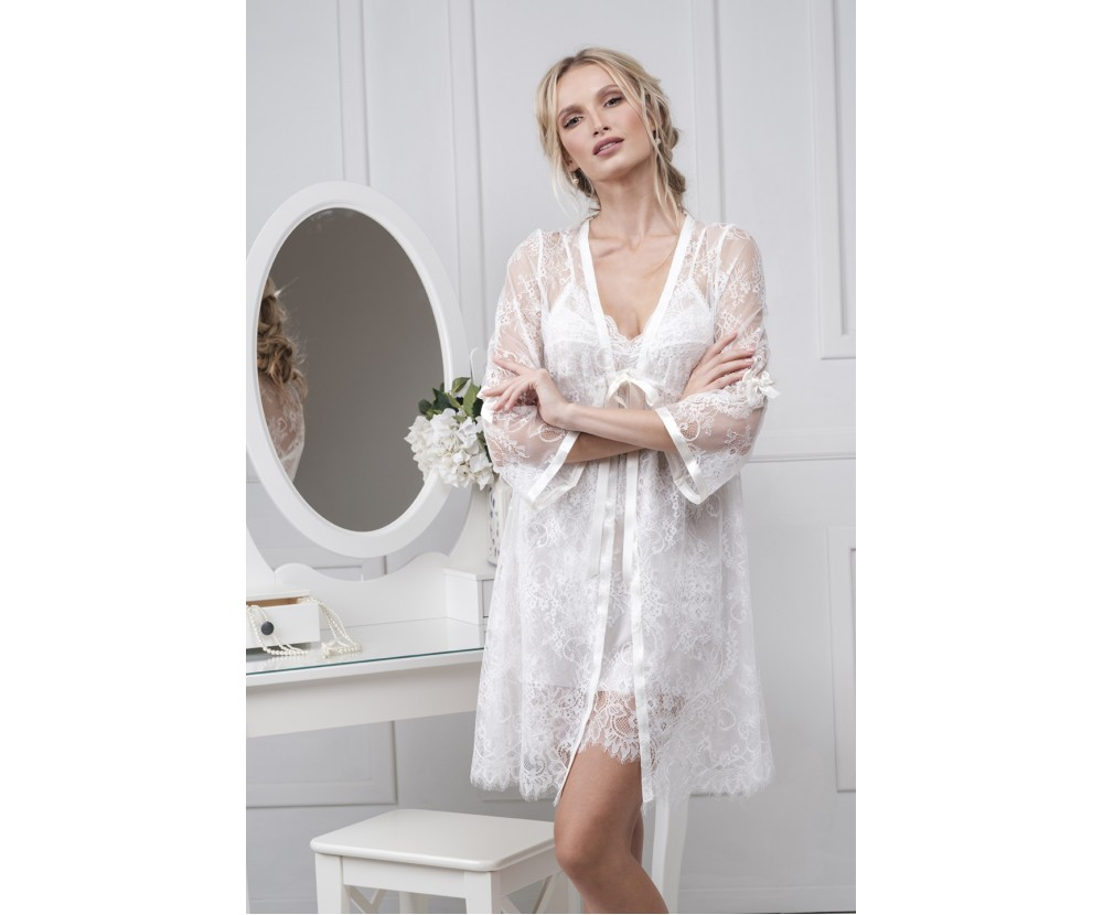 Set mini robe and nightgown