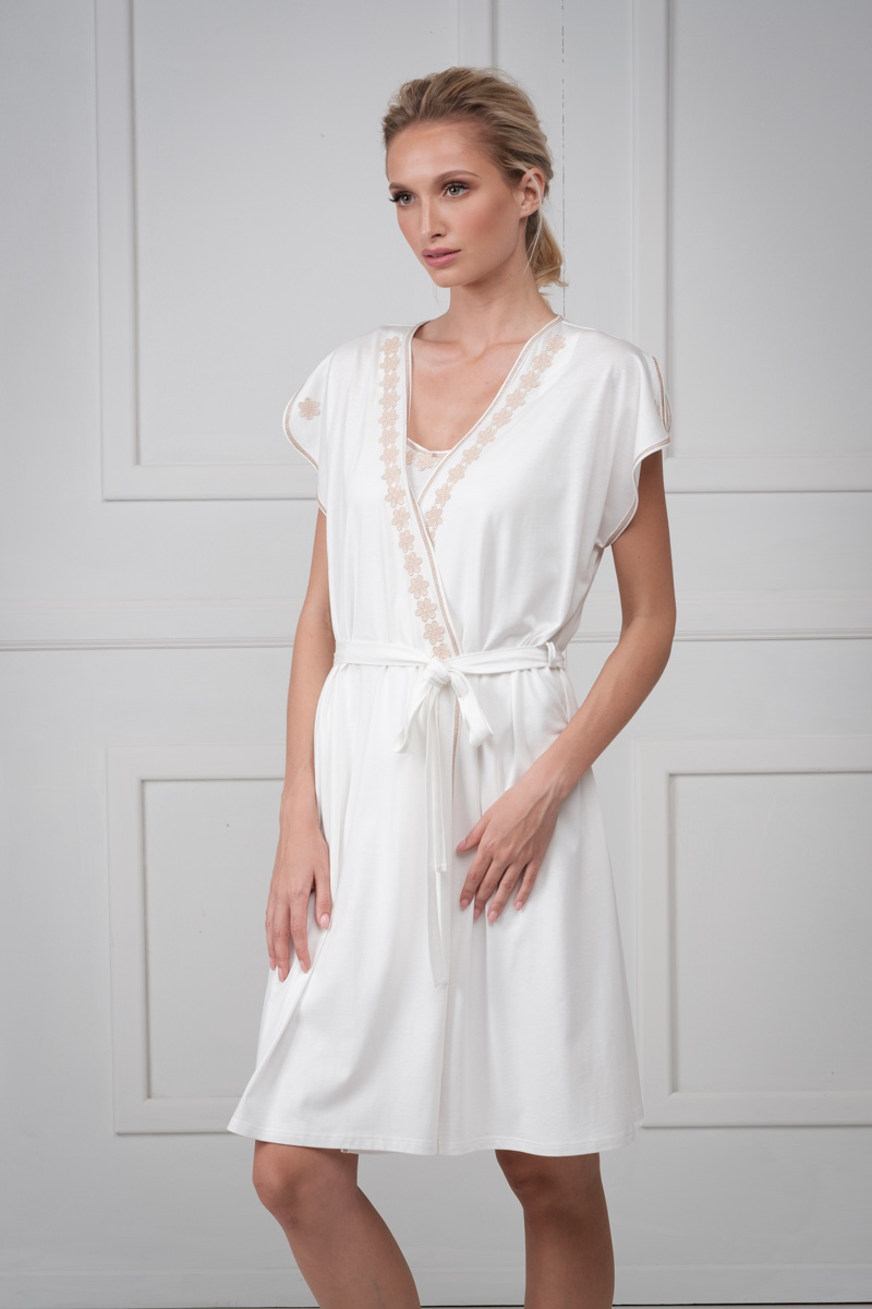 Cotton robe NINON