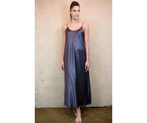 Long classic satin night-gown  Jenny