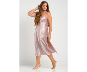 Long classic satin night-gown  Jenny