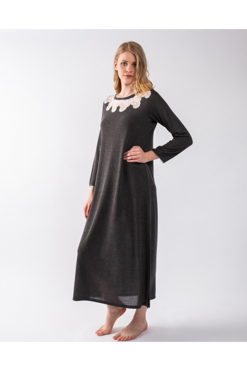 Maxi night-gown jersey Antonella