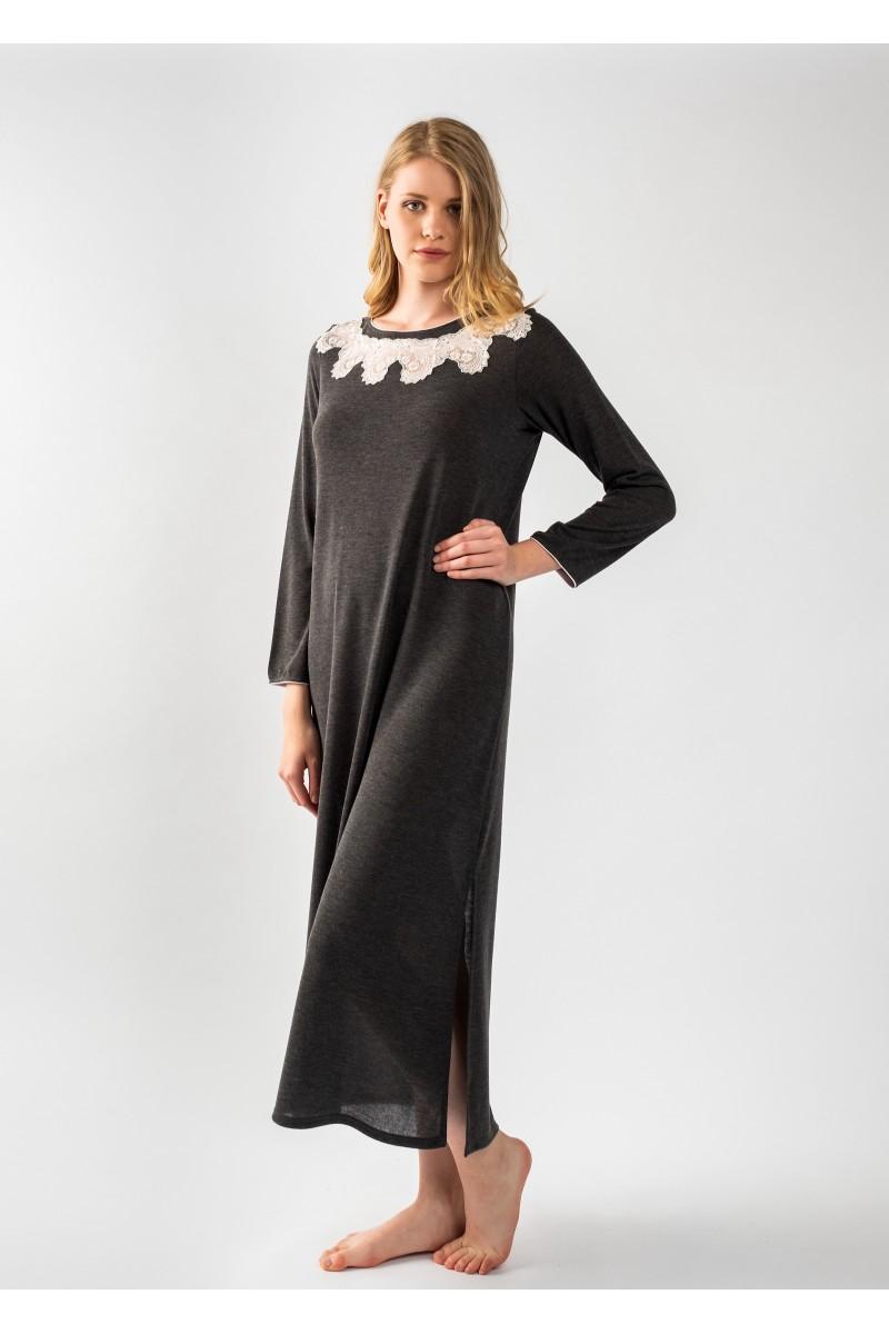 Maxi night-gown jersey Antonella