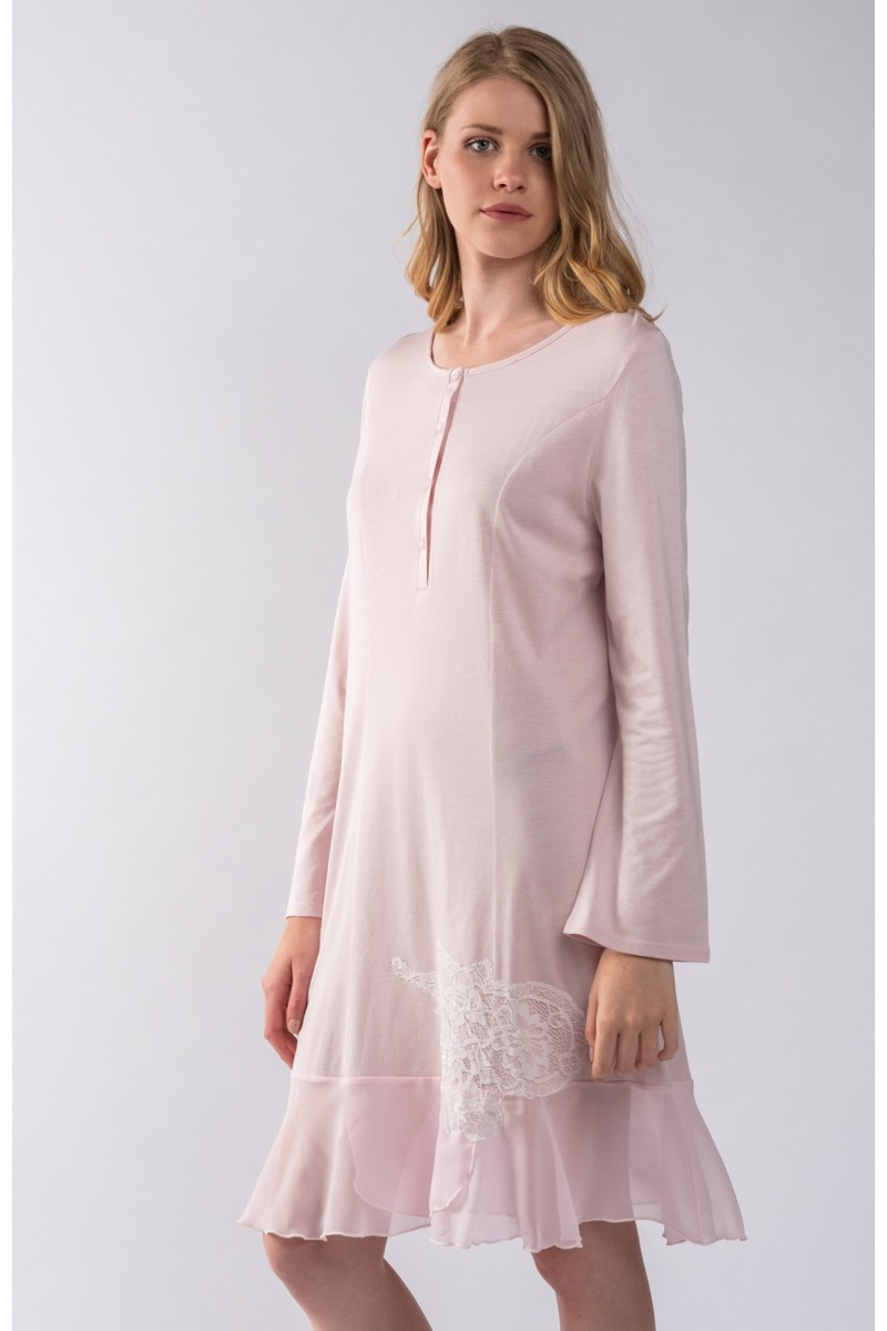 Mini nightgown cotton modal Bijou