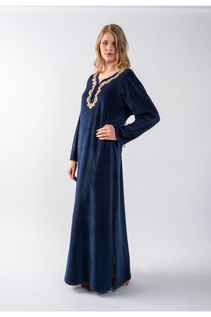 Maxi dress velvet Elodie