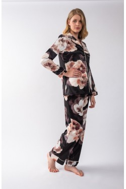 Pyjamas satin printed