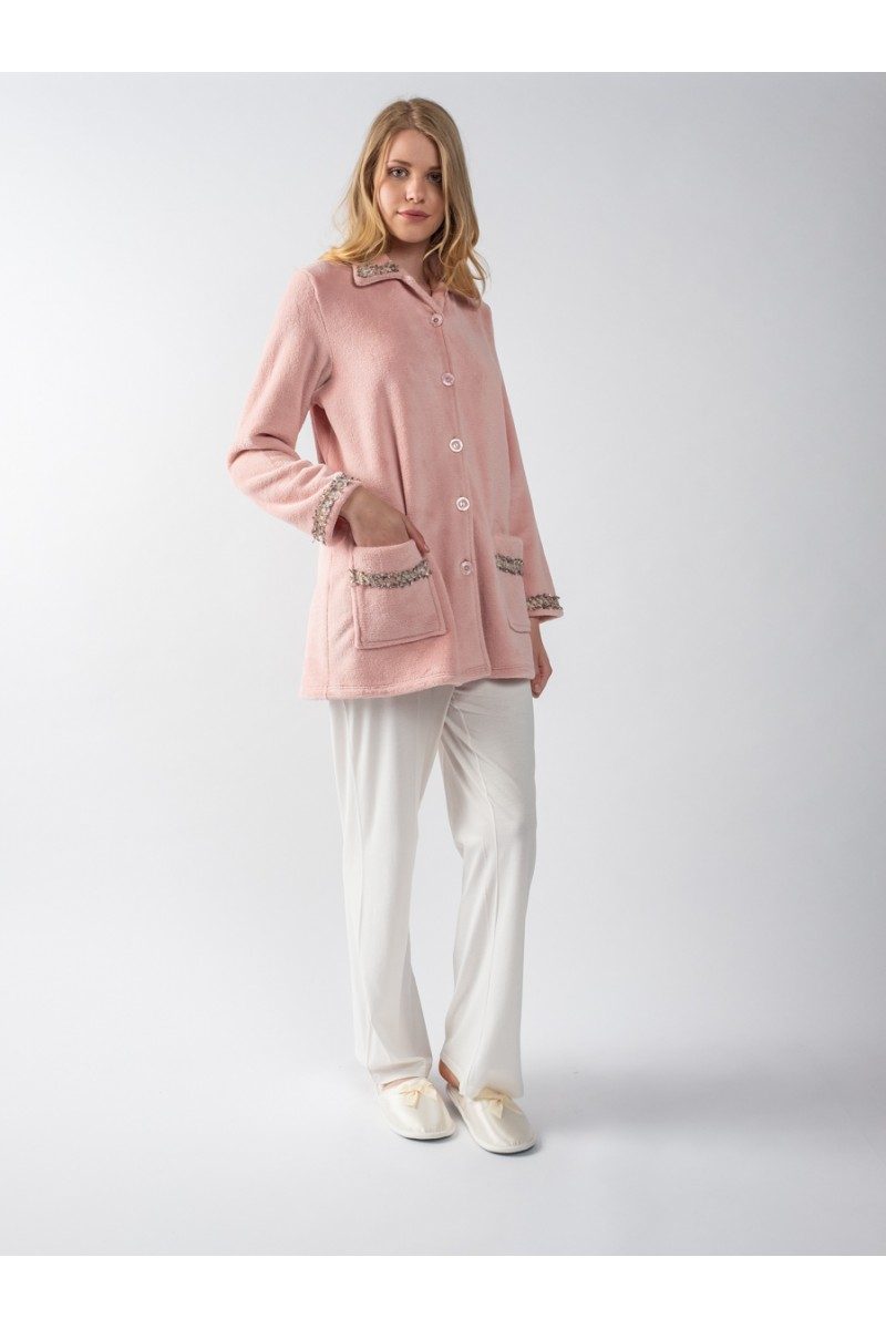 Mini fleece bathrobe Dalida