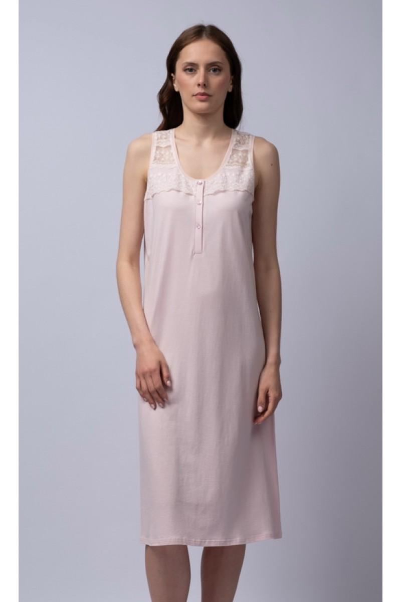 Midi nightgown cotton modal Elise