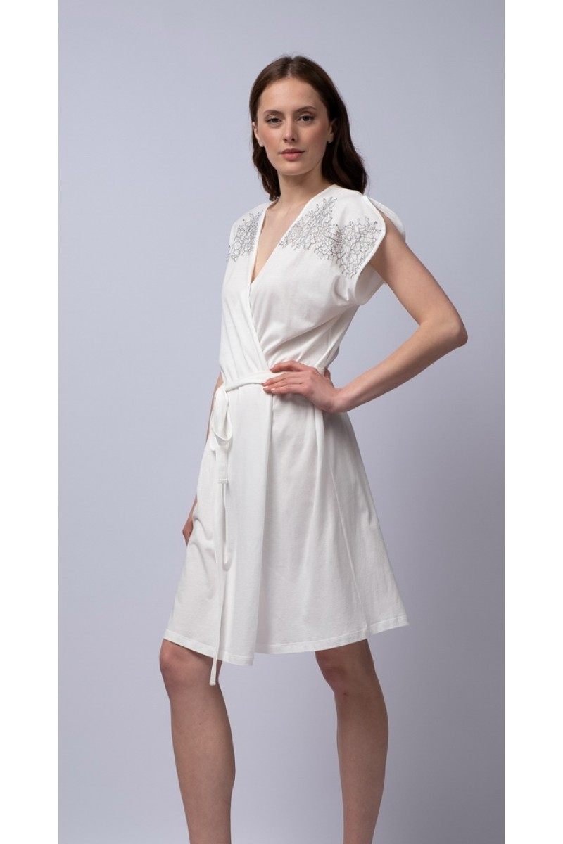 Mini robe cotton modal Ninon