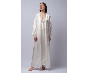 Maxi robe satin Jenny
