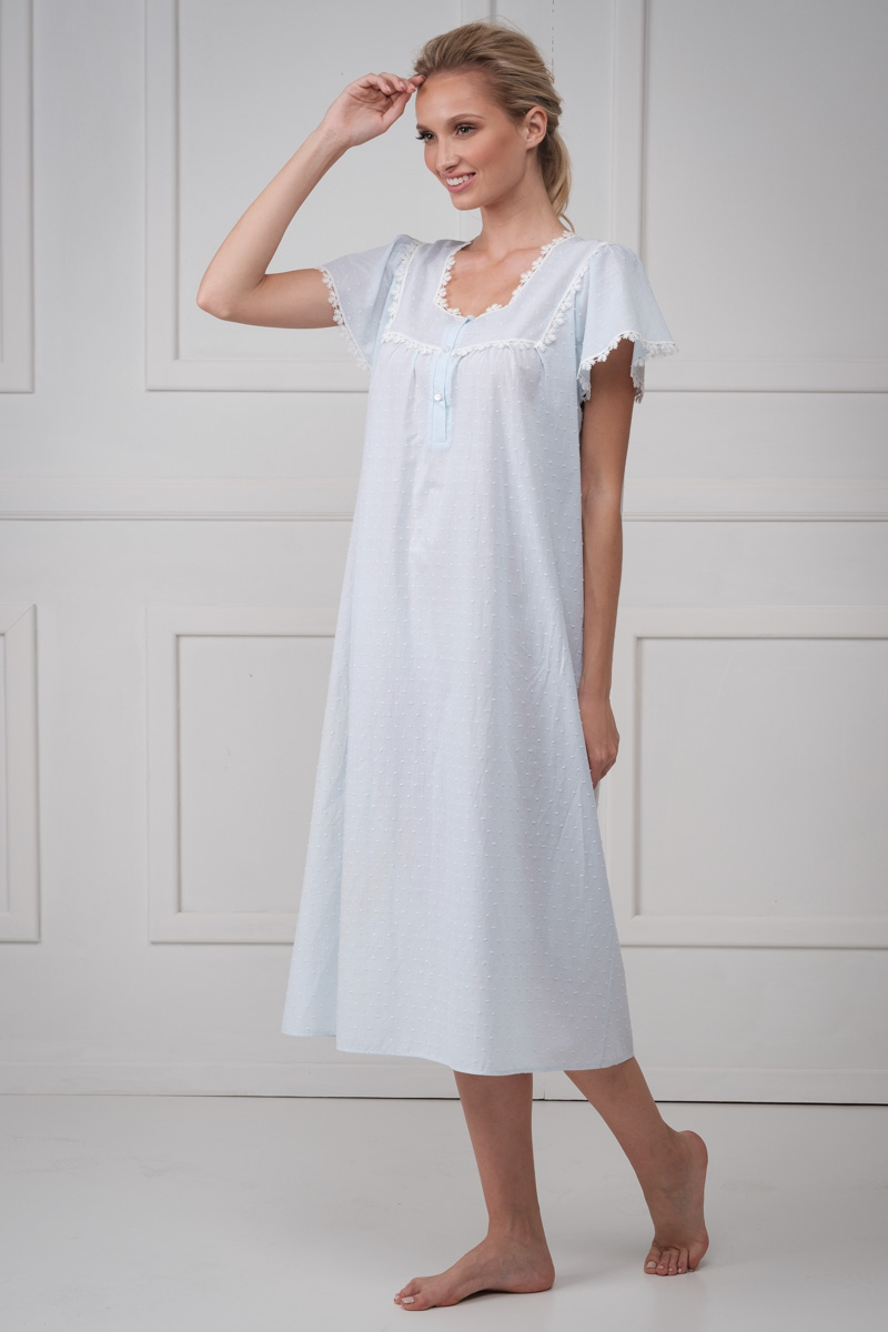 Midi night gown MILVA