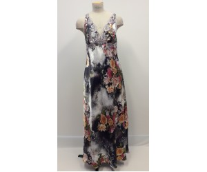 Set maxi night-gown and robe