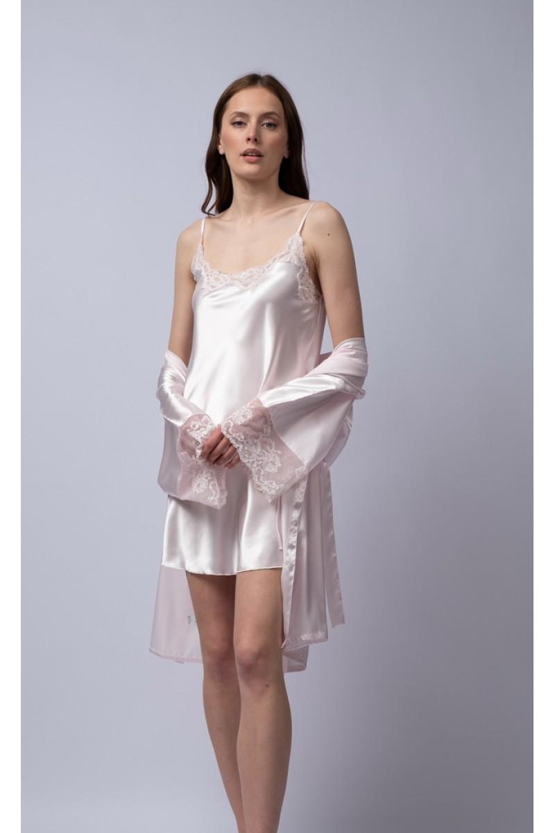 Mini satin night-gown Stephanie