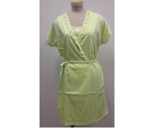 Set mini night-gown and robe
