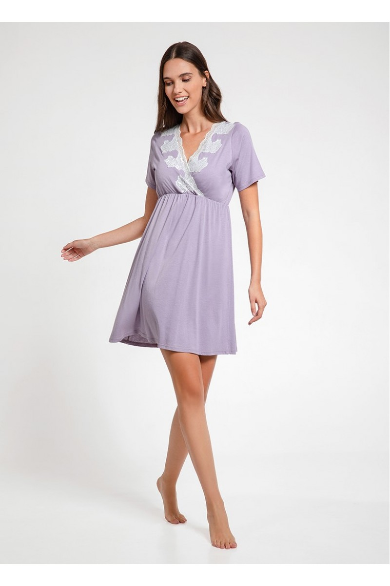 Mini night-gown cotton modal Cora