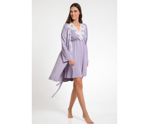 Set mini night-gown Cora with robe Jenny