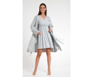Set mini night-gown Cora with robe Jenny