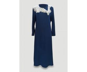 Maxi night-gown viscose elastan Antonella
