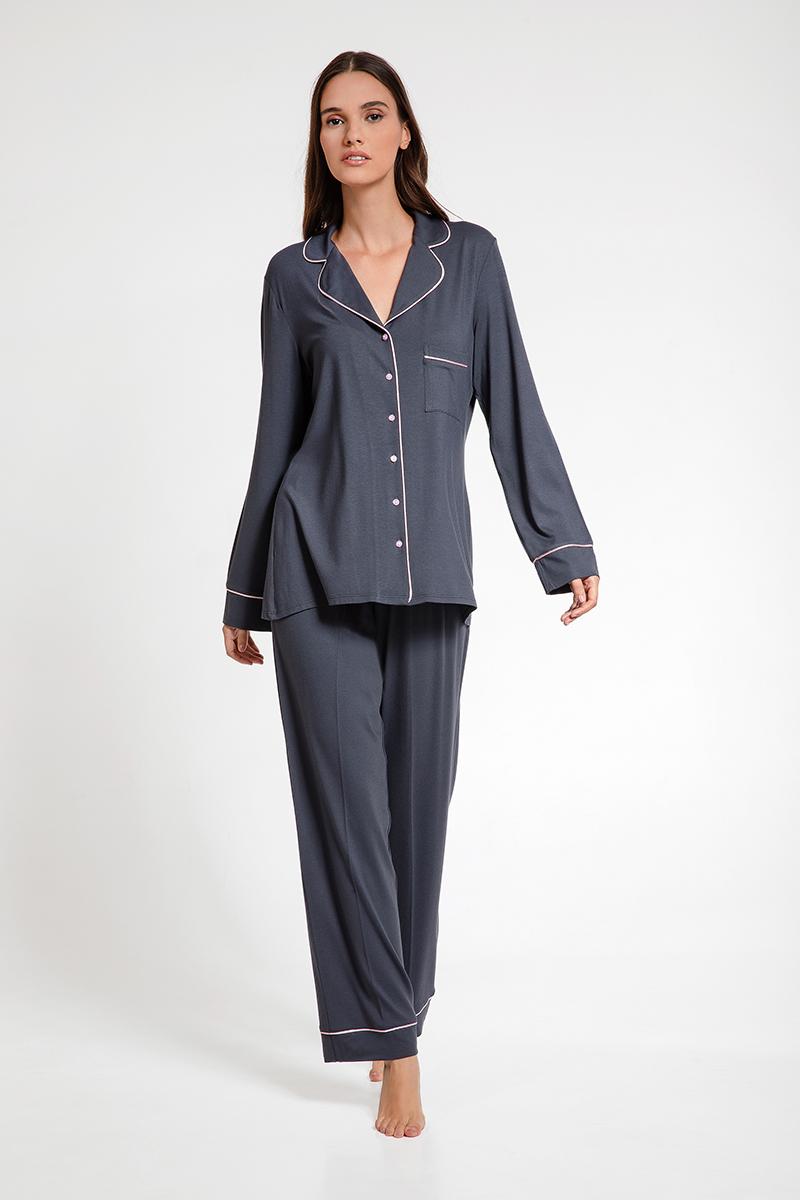 Pyjamas viscose elastan Seniora