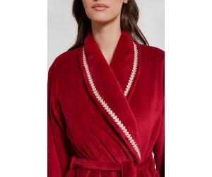 Maxi fleece bathrobe Lady
