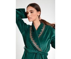 Maxi robe velour Lady