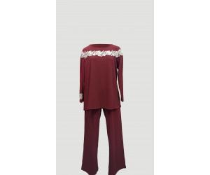 Pyjamas viscose elastan Lula