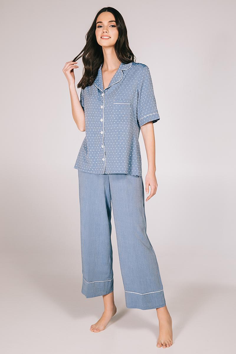 Pyjamas jean viscose Seniora