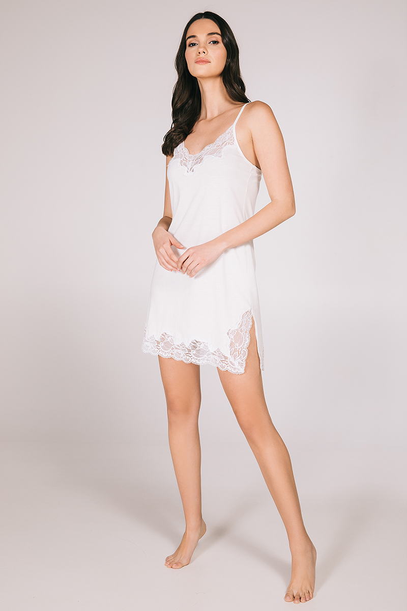 Mini night-gown cotton modal Kitty