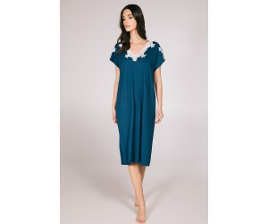 Midi night-gown viscose elastan Ismene