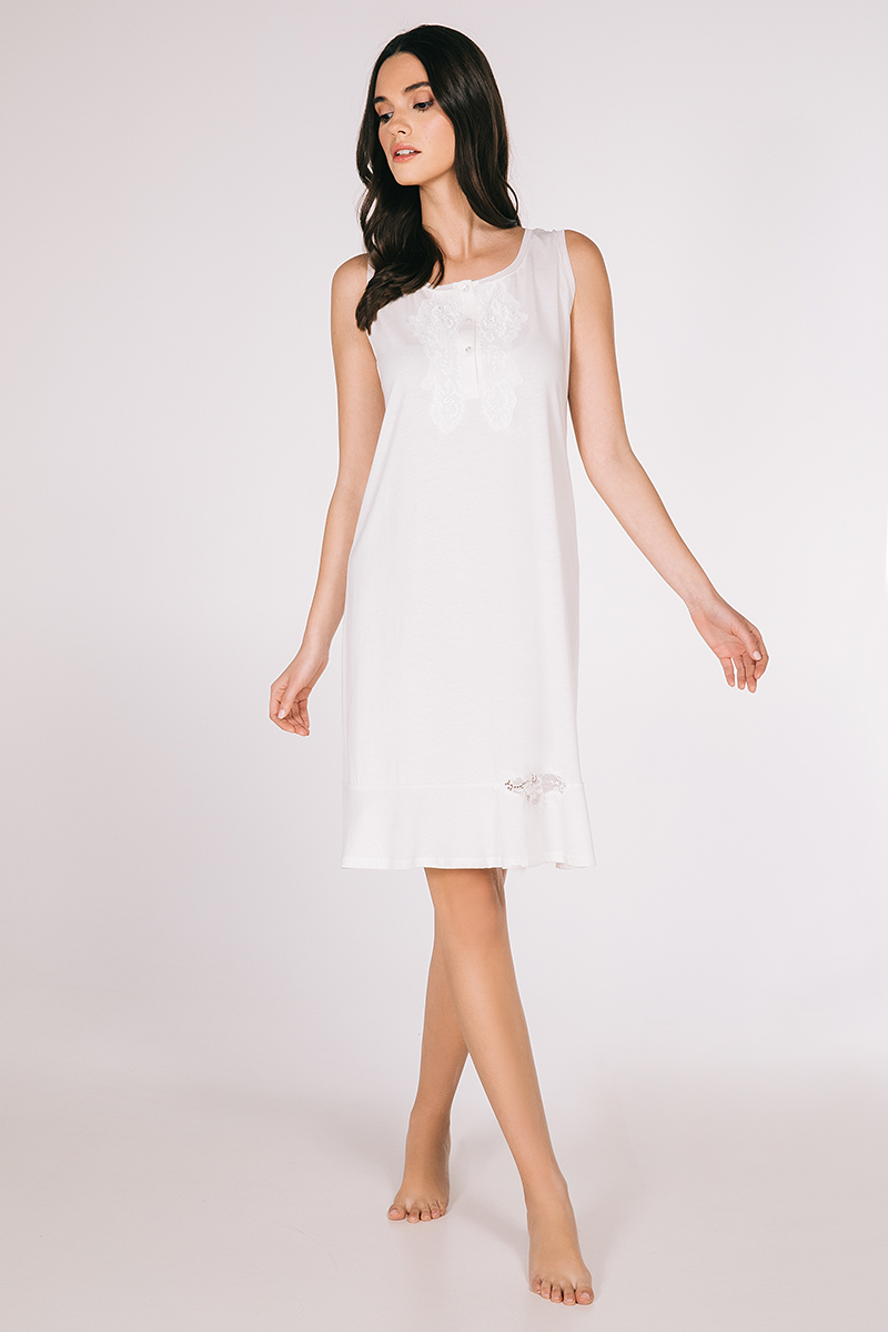 Mini night-gown cotton modal Dolores