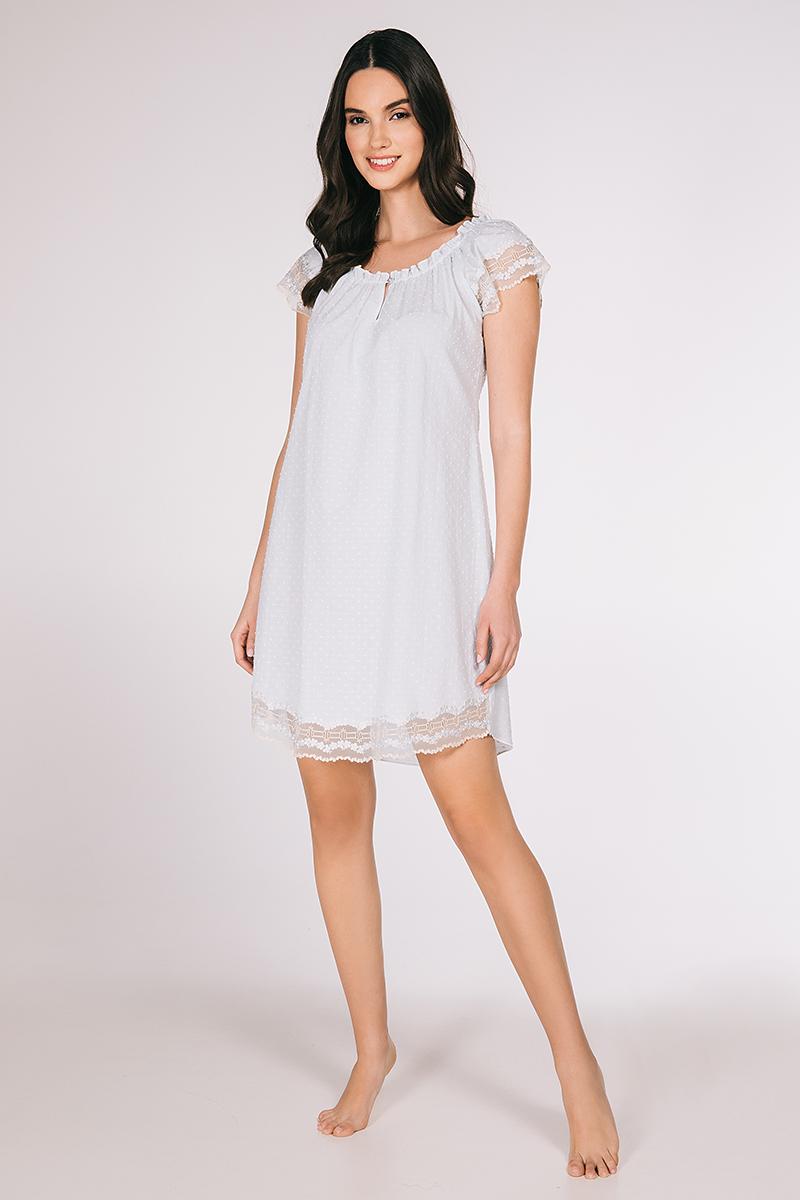 Mini night-gown cotton popeline Betty