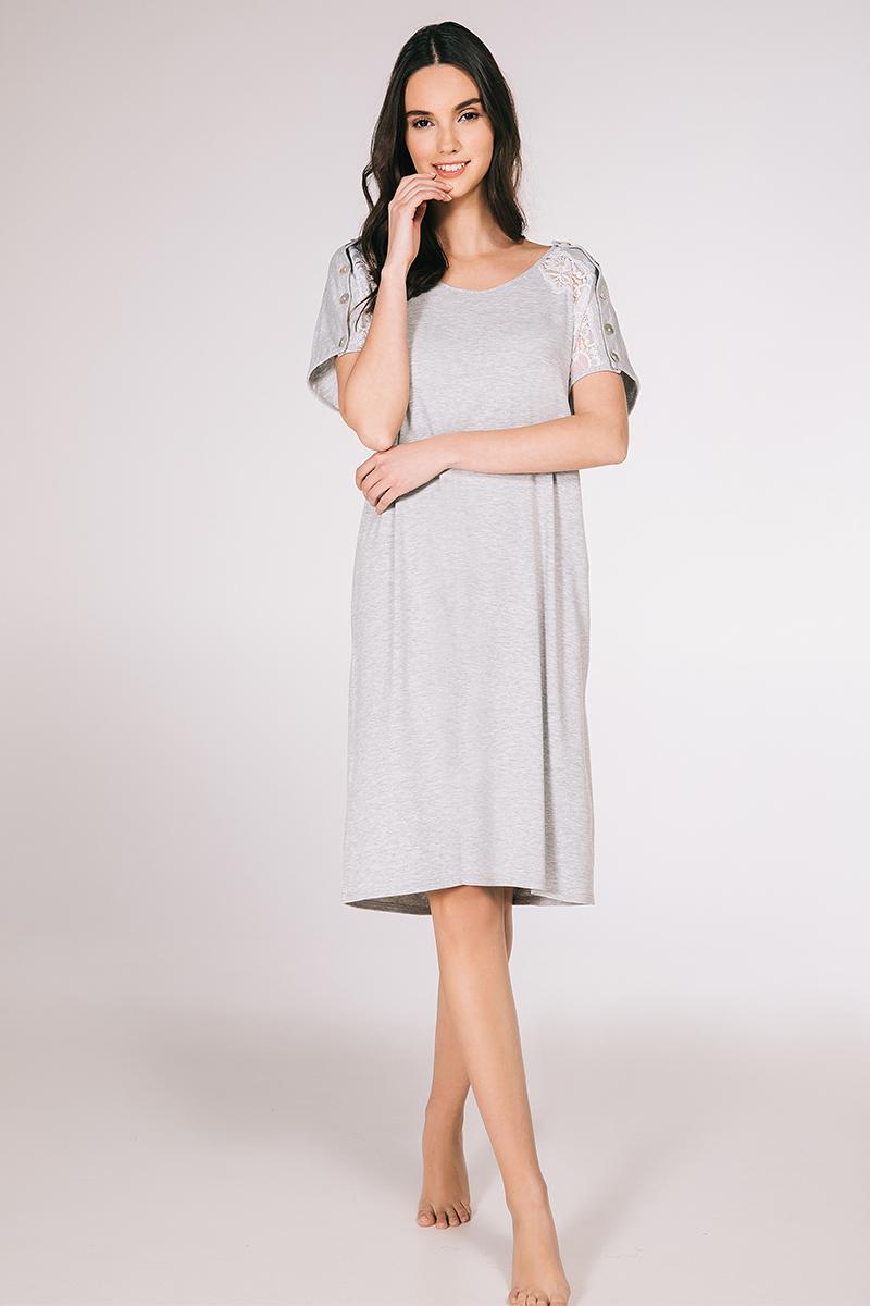 Midi dress viscose elastan Trianthi