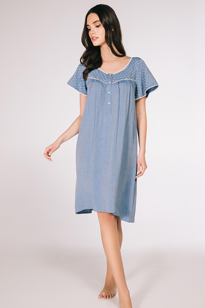 Midi night-gown viscose Tiana