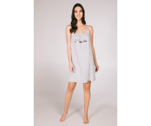 Mini night-gown viscose elastan Nora