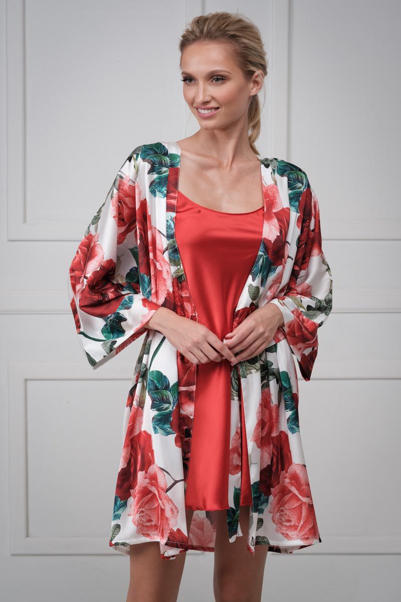 Mini set nightgown stephanie and robe kimono