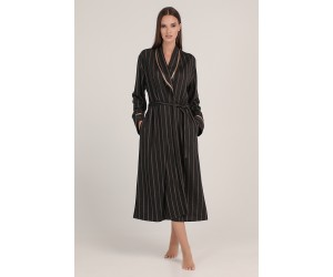 Midi robe jacquard Lady