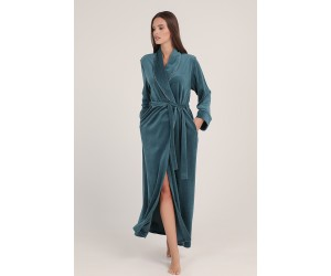 Maxi robe velvet Lady