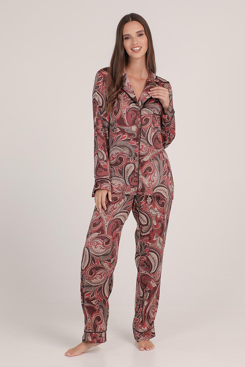 Pyjamas satin Seniora